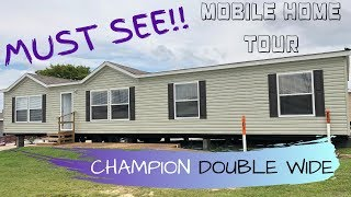 MUST SEE Mobile Home | 28x66 3 bed 2 bath Champion Double Wide The Blanton | Mobile Home Masters