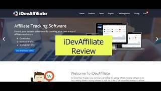 iDevAffiliate Review | Is iDevaffiliate Good?