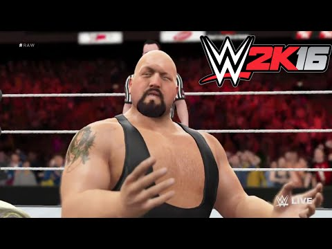 WWE-2K16- RyBack vs Big Show RAW  2016- One on One Match WWE 2K16 (PS4)