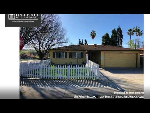 1196 Muriel Ct Court San Jose, CA 95121