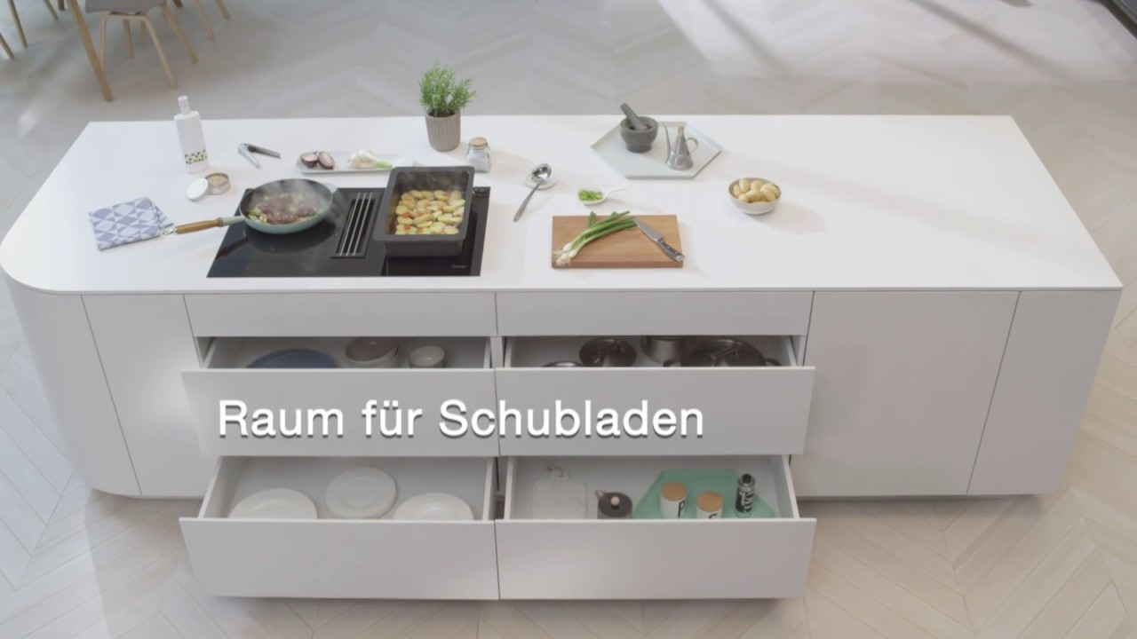 Induktionskochfeld Mit Integriertem Wrasenabzug I Miele Youtube