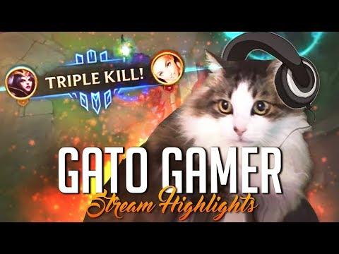 MI GATA JUEGA AL LOL | Stream Highlights (League of Legends) thumbnail