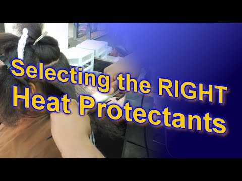 #621 - Selecting the RIGHT Heat Protectants for your Natural Hair