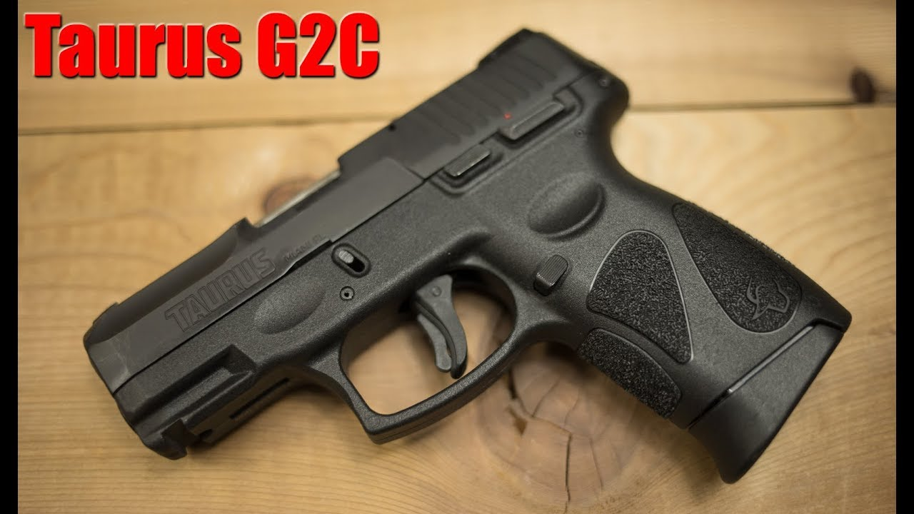 Taurus G2C 9mm First Shots