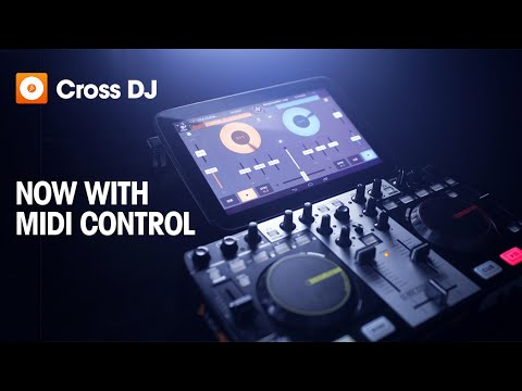 Cross DJ for Android | Now with MIDI control