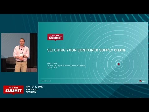 Securing your container supply chain