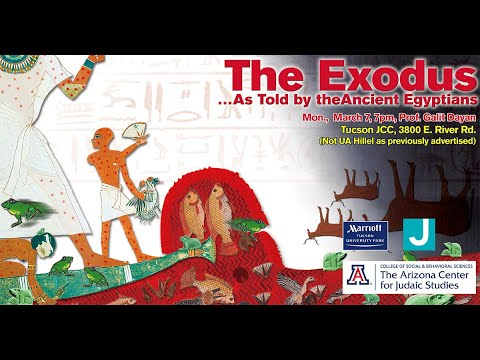 The Exodus By The Ancient Egyptians - Dr. Galit Dayan