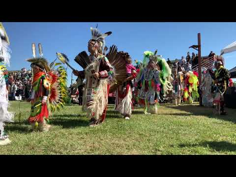 1st Grand Entry - 30th Annual Championship PowWow Traders Village