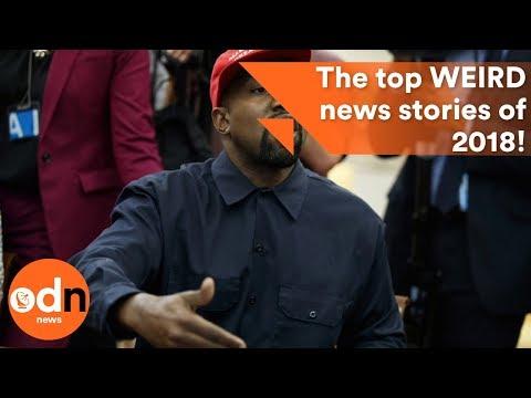 The top WEIRD news stories of 2018!