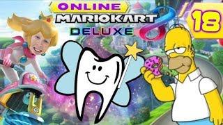 Verstandige kiezen & Donutvormige hersenen! - Mario Kart 8 Deluxe Online #18