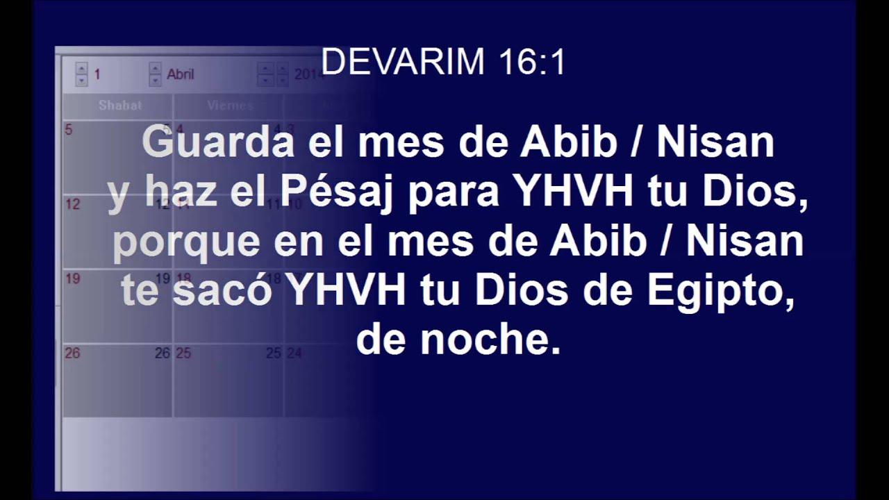 Mês de abibe na bíblia