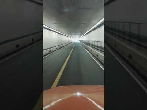 Chesapeake Bay Bridge-Tunnel height clearance video number 2