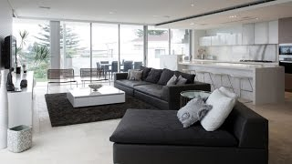 Beautiful Black Living Room Couches Decorating Ideas