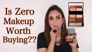 Zero MakeUp, Worth Buy 👍 Or Waste👎 ?? Nadia Khan Review Zero MakeUp ميك أب Palette By Nabila Salon