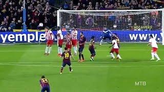 Lionel Messi ● Amazing Curve Goals