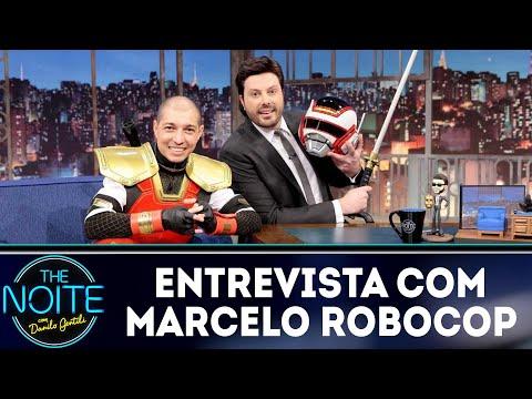 Entrevista com Marcelo Robocop | The Noite (14/09/18)