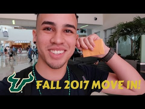 COLLEGE MOVE IN 2017 (2ND YEAR) / USF