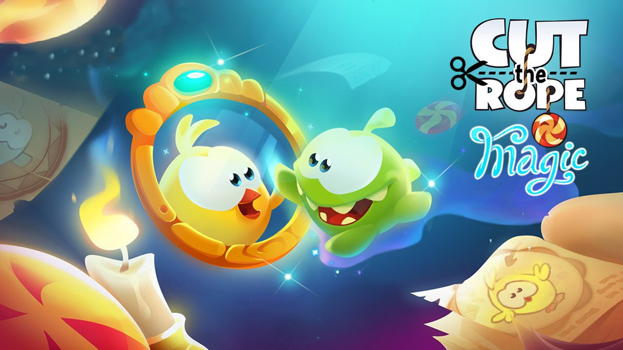 cut the rope magic gameplay ios android