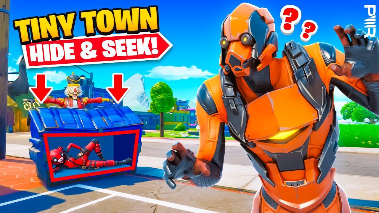 Download TINY TOWN HIDE & SEEK!