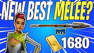 NEW Best Melee Weapon In STW? Sir Lancelot Max Perks Gameplay Review | Fortnite Save The World