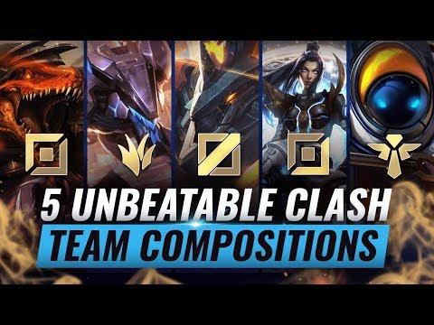 5 UNBEATABLE Team Compositions For CLASH - League Of Legends Season 10