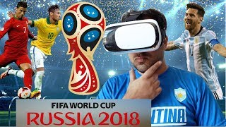 Watch FIFA World Cup Soccer in VR (Virtual Reality)