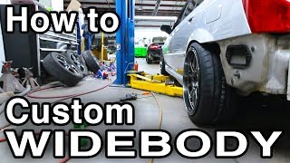 How To Custom Widebody Flare Using Eastwood Fender Roller [Functional Fat Fitment w/Pro Tips]