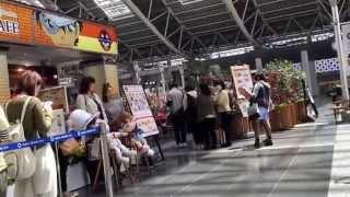 JR大阪駅時の空間に、コナンカフェがオープンしました! コナンカフェ 検索動画 14