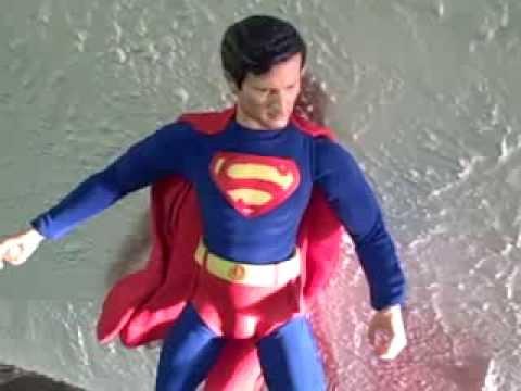12inch Kirk Alyn as Superman - 1948 Custom Figure
