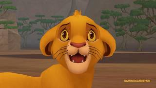 Kingdom Hearts 2 HD Final Mix MOVIE | Disney's Lion King (HIGH FRAME RATE SERIES IN 4K)