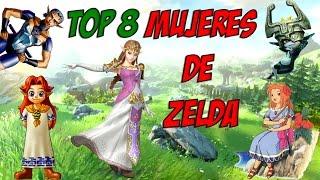 TOP 8 Mujeres más importantes de Zelda
