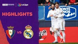 Osasuna 1-4 Real Madrid | LaLiga 19/20 Match Highlights
