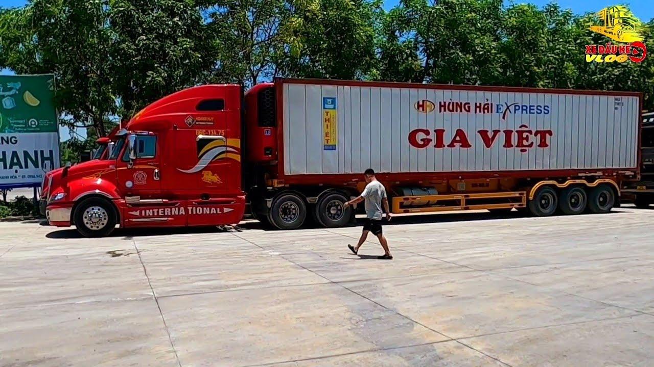 Chạy Chầu #2 - Hành Trình Chạy Chầu Xe Container Đà Nẵng - Cửa Khẩu Lào Cai | Xe Đầu Kéo Vlog #280