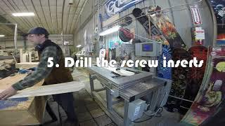 Building a LIBTECH Snowboard [Mervin Manufacturing Tour]