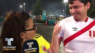 Colombia vs Perú desata pasiones (y algo más) en Miami | Telemundo Deportes