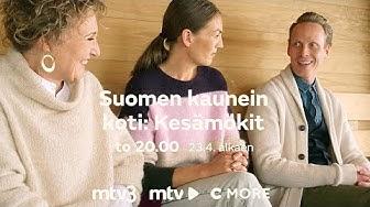 Suomen kaunein koti: kesämökit torstaisin klo 20 | 23.4. alkaen | MTV3