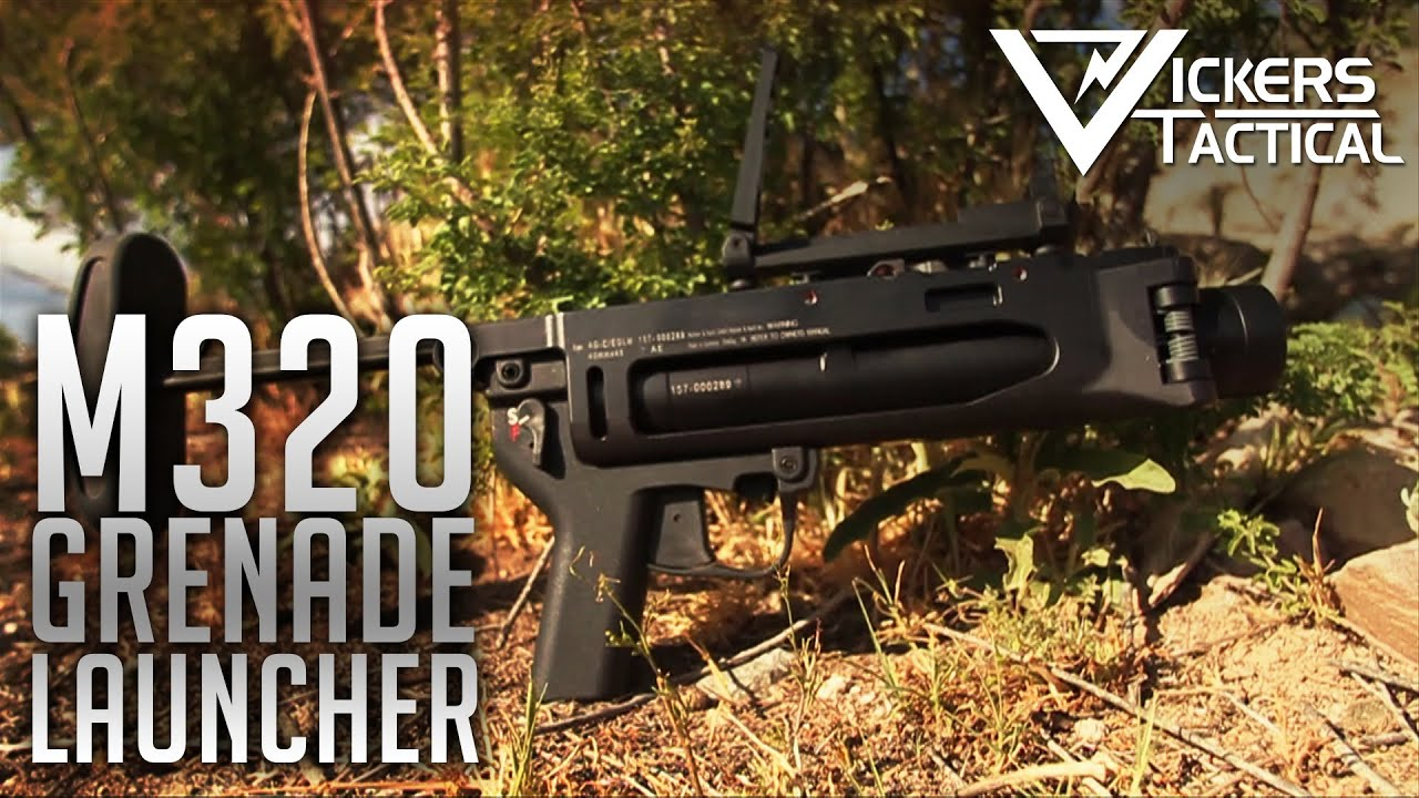M320 Grenade Launcher - YouTube