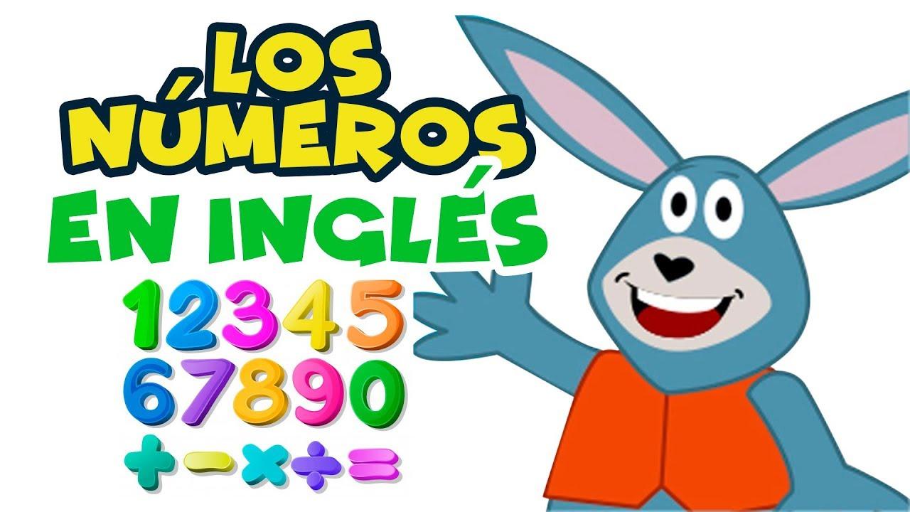 Números En Inglés Del 1 Al 10 Para Niños Youtube