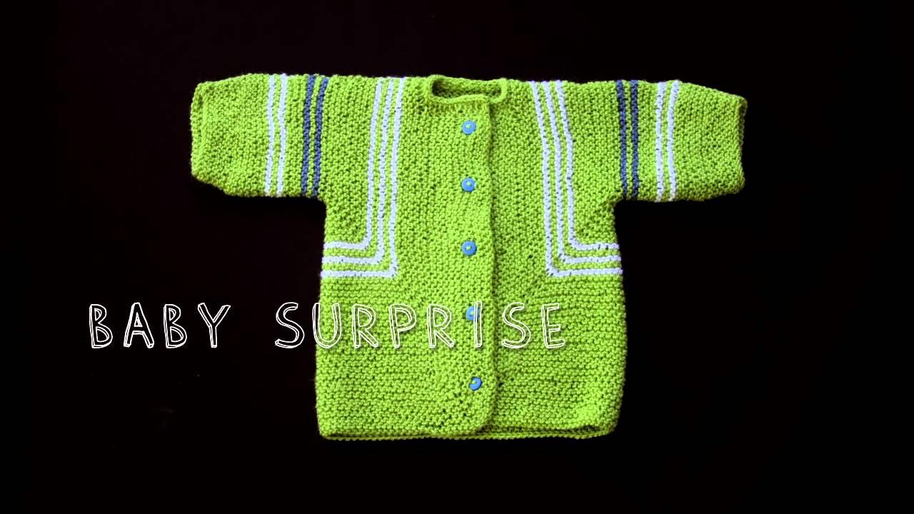 Baby Surprise Jacket By Elizabeth Zimmermann Youtube