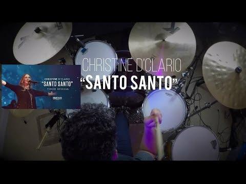 """Christine D'Clario – """"Emanuel"""" Opener / Santo Santo (Drum Cover/Batería)"""