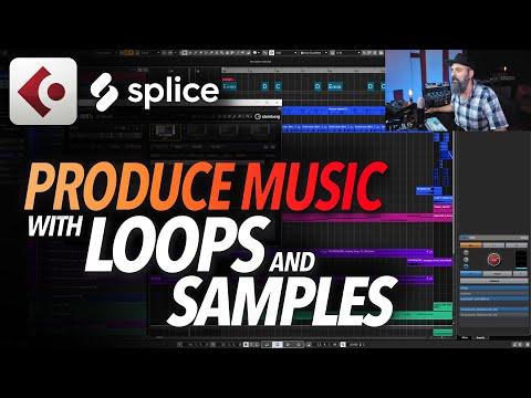 How to PRODUCE MUSIC with LOOPS and SAMPLES in CUBASE 10.5