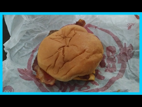 Wendy's Jr Bacon Cheeseburger Review