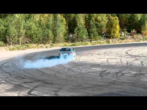 Ford Taunus 4L V6 Turbo Drifting (clip)