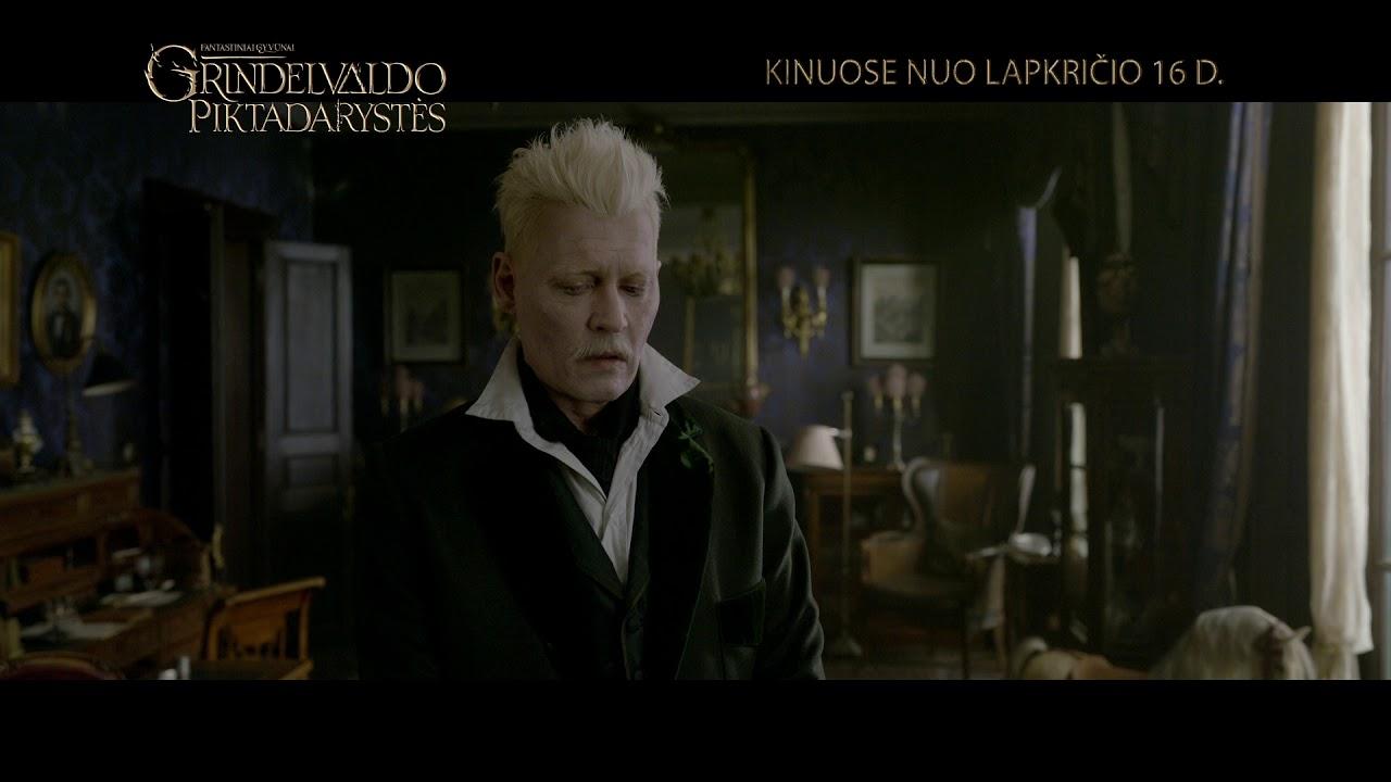 FANTASTINIAI GYVŪNAI: GRINDELVALDO PIKTADARYSTĖS - užburiantis kino reginys nuo lapkričio 16 d.