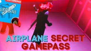 AIRPLANE SECRET GAMEPASS!!! || Roblox Tutorial