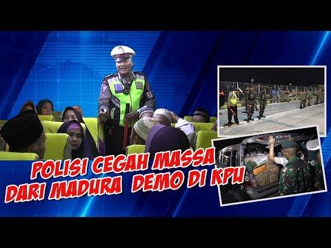 Polisi Cegah Massa People Power dari Madura Datang Ke Jakarta