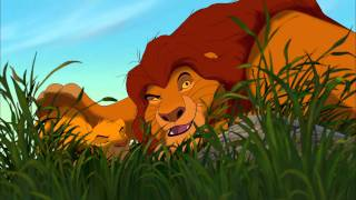 The Lion King 3D - 'Simbas Pouncing Lesson' - Official Disney Movie Clip