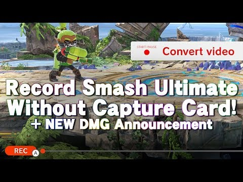 How To Record Smash Ultimate Without A Capture Card!