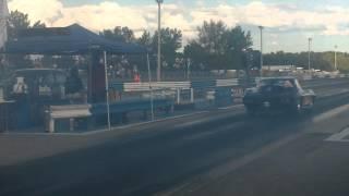 Eliminations EMPIRE NOSTALGIA GOLD CUP Bracket Shark Corvette vs H.K.I 57 Chevy