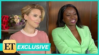 Avengers: Endgame: Scarlett Johansson and Danai Gurira (FULL INTERVIEW)